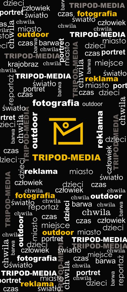 Projekt naklejki na drzwi  dla studia fotograficznego w Chorzowie